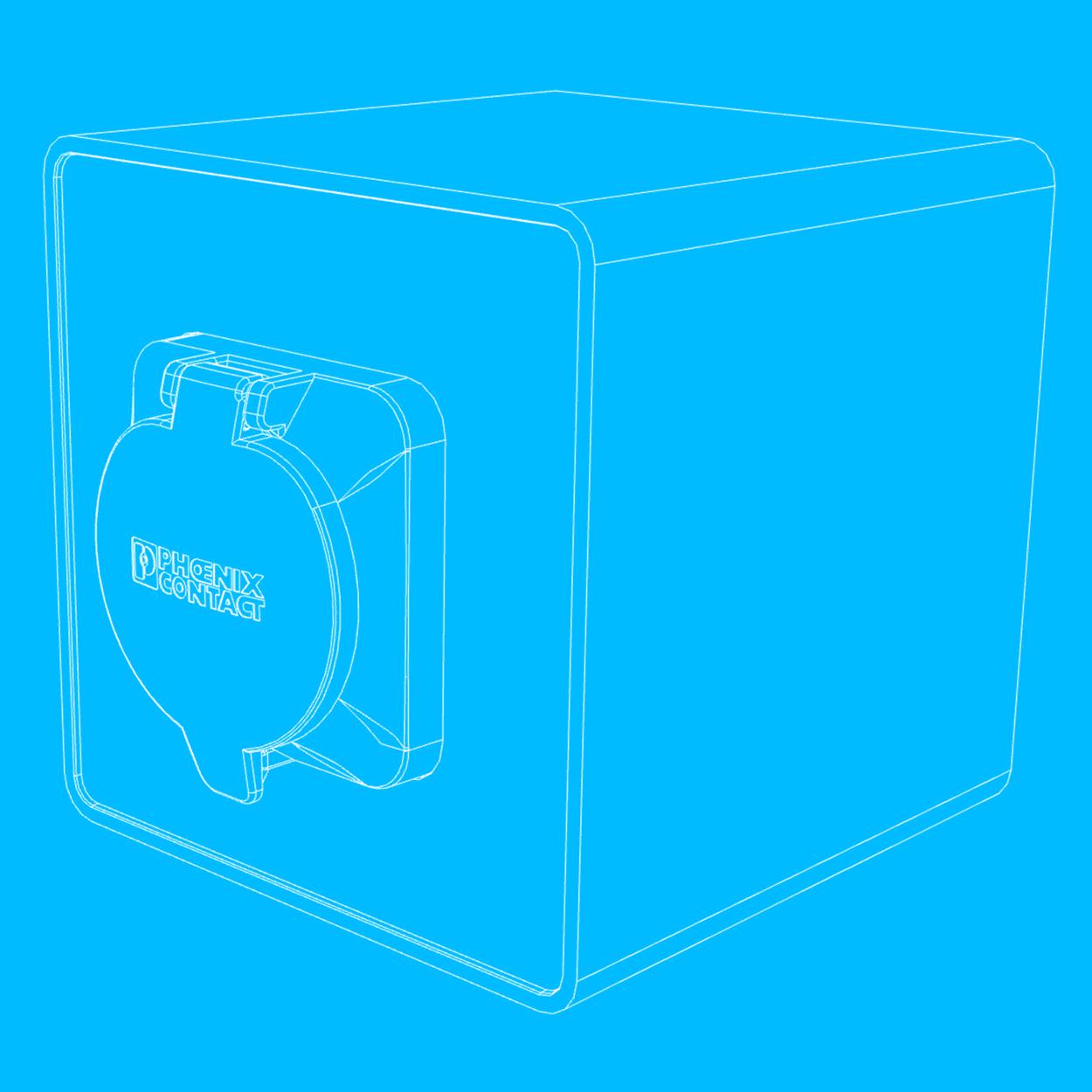 Enomics Boxen, Technische Zeichnung, Vorderseite